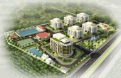 RESIDENTIAL AREA FOR STAFF OF VUNG ANG THERMAL POWER PLANT 1